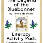 48 fun-filled, effective, and meaningful pages of activities on The Legend of the Bluebonnet by Tomie dePaola!   (The preview file will give you a ...