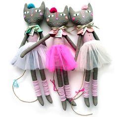 ballerina cica - pink