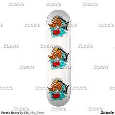 Pirate Booty Skateboard Deck