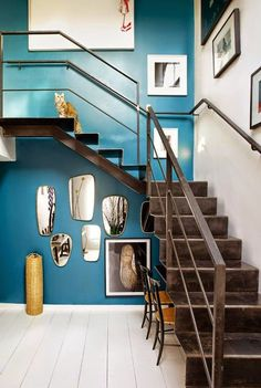 Sarah Lavoine staircase True refinement and style in an apartment in Paris