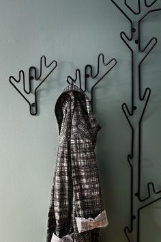 Twig knagg svart