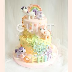 Another remake of a My Little Pony cake… Thanks for looking…!