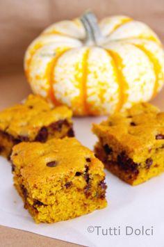 pumpkin-chocolate chip bars