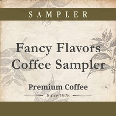 Fancy Flavors Coffee Sampler, Three 1lb Bags