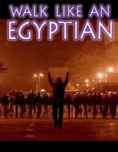 WHO: Egyptian Revolution.  WHAT: The inspiration of the Egyptian revolution.