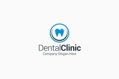 Dental Clinic Logo by Arslan on @creativemarket