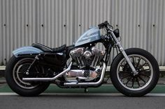 Harley Davidson Bike Pics is where you will find the best bike pics of Harley Davidson bikes from around the world. Sportster Cafe Racer, Ironhead Sportster, Sportster Motorcycle, Custom Sportster, Harley Bobber, Harley Softail, Chopper Motorcycle, Custom Harleys, Motorcycle Garage