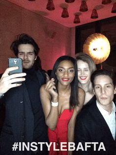 Party goers at the #instylebafta event in London, captured using GIF/GIF.  #lovegifgif
