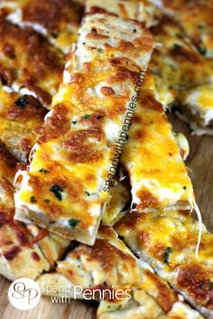 The Best Cheesy Bread Sticks