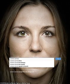7 Clever and Effective NGO Print Ads: UNICEF's Google ad is sad because it's…