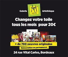 Artothèque | galerie d'art ART HOME DECO bordeaux | galerie d'art à bordeaux, Galerie d'art contemporain, tableaux à prix accessibles.
