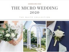 Check out the Three New Options we have created for the 2020 Couple. Need something  else- just ask! Home Wedding, Wedding Events, Weddings, The Third Option, Wedding Flowers, Copper, Backyard, Table Decorations, Nature