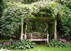 Early American Gardens: Garden Inspiration - Arbors
