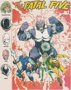 The Fatal Five, Legion of Super Heroes, DC Comics