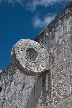 Mayan Ball Goal, Chichen Itza, Mexico Supposedly they also used heads instead. Mayan History, Jamaica Travel, Tikal, Mesoamerican, Seven Wonders, Mayan Ruins, Travel Memories, Ancient Architecture, Mexico