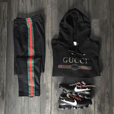 Behind The Scenes By hypedarchive Grid Gucci Behind The Scenes By hypedarchive Nike Outfits, Gucci Outfits, Sporty Outfits, Dope Outfits For Guys, Swag Outfits Men, Cool Outfits, Streetwear Mode, Streetwear Fashion, Gucci Fashion