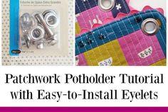 Patchwork Potholder Tutorial