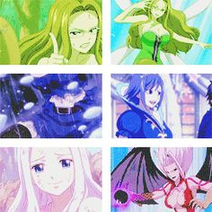 The Women Of Fairy Tail