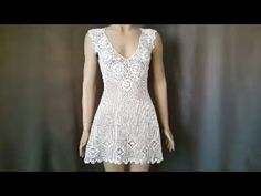 How to Crochet a Beach Cover Up / Crochet Beach Top Tutorial / Part 1 - YouTube