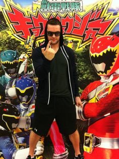 76502f4c7b08f Prince Devitt (Japanese wrestler) Finn balor fights the power rangers   Men s WrestlingJapan Pro ...
