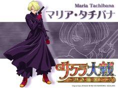 Sakura Wars Maria | Chara der Woche: Maria Tachibana « Anime Und Manga « Matsu's Ecchi ...