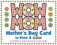 Mother's Day foldable cards. Why didn't I ever think of the symmetry here?