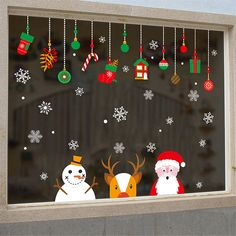 noel 2019 Style: Modern Classification: For Wall,Furniture Stickers,Window Stickers Pattern: Plane Wall Sticker Specification: Single-piece Package Model Number: Wall Sticker Theme: Characters Scenarios: Wall Material: PVC Office Christmas Decorations, Christmas Crafts For Kids, Christmas Fun, Holiday Crafts, Cubicle Decorations, Craft Decorations, Christmas Stickers, Vintage Christmas, Christmas Ornaments