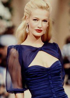 Karen Mulder for YSL (90s)