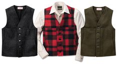 Filson Mackinaw Vest - Wool clothes for everything...