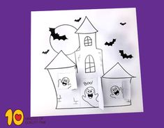 crafts Halloween Halloween Crafts For Kids, Halloween Themes, Paper Roll Crafts, 1st Grade Math, Printable Crafts, Quality Time, Hello Kitty, Art Ideas, Castle