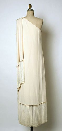 Evening dress, ca. 1969, House of Balmain, Pierre Balmain, French