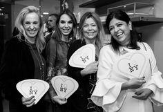 Ercília Fligelman, Esther Schattan, Rosanne Azulay Majdlis e Grace Luna Azulay Zolko
