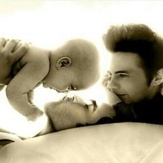 There is so much love ❤❤❤ I can't take it...  #sterek #baby #manip #love #family