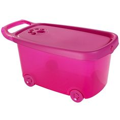 Roller Toy Box PINK