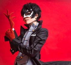 Amazing Persona 5 JOKER Kurusu Akira Cosplay #persona5 #KurusuAkiraCosplay #cosplayclass