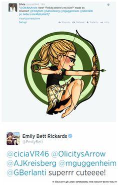 Felicity smoak - green arrow - cw - fan art - bow - felicity, where is my bow ? Arrow Dc, Team Arrow, Flash Arrow, Arrow Cast, Arrow Felicity, Oliver And Felicity, Felicity Smoak, Dc Tv Shows, Emily Bett Rickards