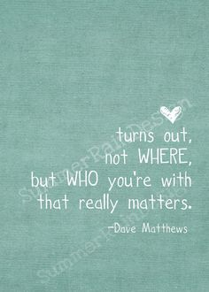Who you're with matters <3