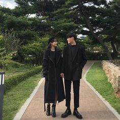 Matching Couple Outfits, Matching Couples, Cute Couples, Fashion Couple, Love Fashion, Korean Fashion, Ulzzang Couple, Ulzzang Girl, Korean Winter