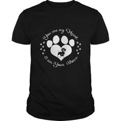 I Love You are my heart I am your voice T shirts