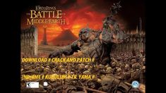 LORD OF THE RİNGS II THE BATTLE OF MİDDLE EARTH #İNDİRME - KURULUM VE TR...