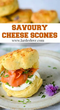 Quick and easy savoury cheese scones. Perfect for lunch with soup, add smoked salmon for a posh snack and make party sized savoury scones too. #scones #ScottishBaking #ScottishRecipes #cheesescones #Larderlove Cheese Scones, Savory Scones, Mini Scones, Recipe Sharing, Scottish Recipes, Home Baking, Bowl Of Soup, Larder, Appetisers