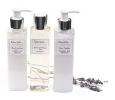 Riverside Lifestyle Lavender bath and shower cream and lotions set