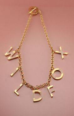 8207057dc wildfox Ring Necklace, Letter Necklace, Jewelry Necklaces, Letters,  Wildfox, Wand,