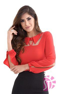 Come across a reasonable & dynamic assortment of female females' blouses. Kurta Designs, New Blouse Designs, Stylish Blouse Design, Stylish Dress Designs, Neck Designs For Suits, Sleeves Designs For Dresses, Neckline Designs, Dress Neck Designs, Workwear Fashion
