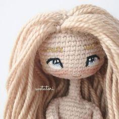 Всем привет✌ после долгого перерыва, возвращаюсь к куклам) у меня в арсенале появился новый оттенок блонд. #svetatoridolls