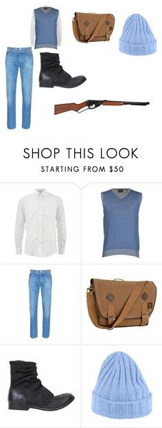 """""""JOHN SMITH FOR A DAY"""" by ekomkaleka ❤ liked on Polyvore featuring Air Jumper by Scaglione, Valentino, Timberland, The Last conspiracy, Drumohr, men's fashion and menswear"""