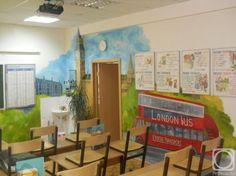 Как оформить кабинет английского языка в школе