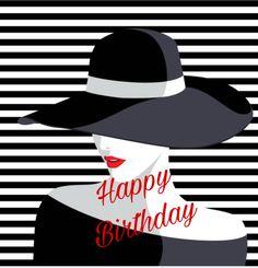 Birthday Cards For Women, Birthday Images, Happy Birthday, Hats, Female, Happy Brithday, Hat, Birthday Pictures, Urari La Multi Ani