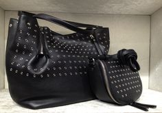 Eyelet tote and crossbody bag by @burberry #Burberry #eyelet #bag #FolliFollie #FW14collection