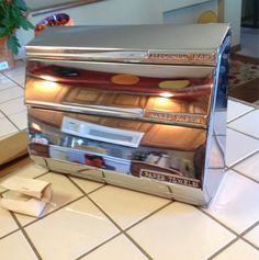 Vintage Lincoln Beauty Ware Chrome Paper Towel. Aluminum Foil Dispenser- we had one of these.